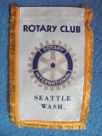 Banner Of SEATTLE  WASH..   (U.S.A.).  Of  ROTARY CLUB INTERNATIONAL. - Organizations