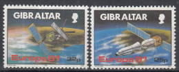 Gibraltar - Europa CEPT - Europäische Weltraumfahrt - Europese Ruimtevaart - MNH - M 613-615 - Space
