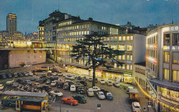 LAUSANNE / LE SOIR / ANNEES 50 / CIRC 1962 - VD Vaud
