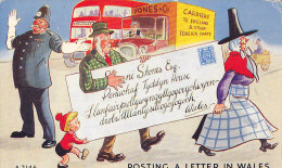 POSTING A LETTER IN WALES - Pays De Galles