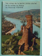 V08-28-dep-38-vienne Sur Le Rhone-les Ruines Du Chateau Valle Durhone-- - Vienne