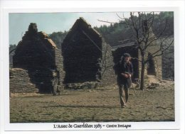 2210 - Caurel - Côtes D'Armor - Ecluse Du Pouldu - Assec Du Lac De Guerlédan 1985 - Caurel
