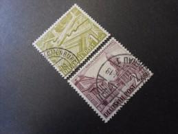 Berlin (West)  Mi57+58 - 1DM+2DM  Berliner Bauten  1949 - Used Stamps