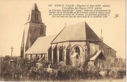 14037. Postal BERCK Ville. (Pas De Calais) Clocher Et Nef Croisillon De Choeur - Berck