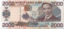 SIERRA LEONE - 2000 Leones 2006 UNC Pick 26C - Sierra Leone