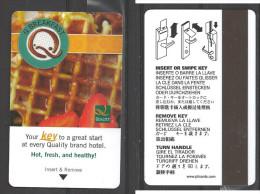 Hotel  - Quality Hotel, Q Breakfast Waffle - Cartes D'hotel