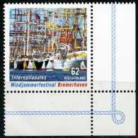 BRD - Michel  3172 Eckrand Rechts Unten - ** Postfrisch (H) - 62C Windjammerfestival Bremerhaven - BRD