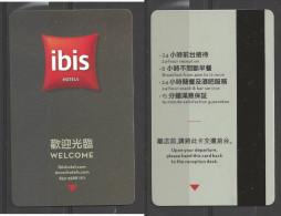 Hotel  - Ibis Hotel, Hong Kong - Hotelsleutels (kaarten)