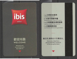 Hotel  - Ibis Hotel, Hong Kong - Cartes D'hotel