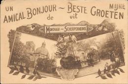 Un Amical Bonjour De MONTAIGU-SCHERPENHEUVEL - Scherpenheuvel-Zichem