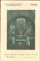 Calendrier Kalender 1939 - Sainte Thérèse De L'enfant Jesus - Calendriers