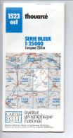 Carte IGN - 1523 Est - 25 000° - Thouarcé - Topographical Maps