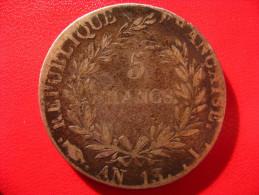 5 Francs Napoléon Ier An 13 I Limoges 5045 - France