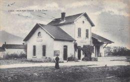 France  CPA 38 -  BERNIN ( Isere )  La Gare / Railway Station - Andere Gemeenten