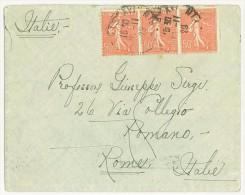 FRANCIA - LETTERA  PER  ROMA ANNO 1929 ( N° 199 ) - Storia Postale