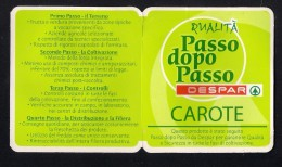 # CAROTE DESPAR Italy Tomato Tag Balise Etiqueta Anhänger Cartellino Vegetables Gemüse Verduras Carrot Carotte Karotte - Fruits & Vegetables