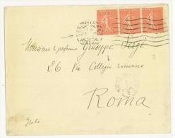 FRANCIA - LETTERA   PER ROMA  -  ANNO1929 ( N° 199 ) - Storia Postale