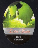# EXTRA FRUTTA UVA REGINA TABLE GRAPE Italy Fruit Tag Balise Etiqueta Anhänger Cartellino Uva Raisin Uvas Traube - Fruits & Vegetables