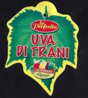 # UVA DI TRANI TABLE GRAPE Italy Fruit Tag Balise Etiqueta Anhänger Cartellino Uva Raisin Uvas Traube - Fruits & Vegetables