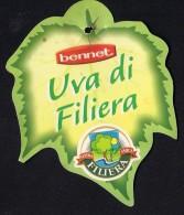 # LARGE UVA BENNET TABLE GRAPE Italy Fruit Tag Balise Etiqueta Anhänger Cartellino Uva Raisin Uvas Traube - Fruits & Vegetables