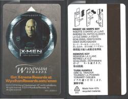 Hotel  - 2014 Wyndham Rewards, X-Men - Cartes D'hotel
