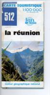 Carte IGN - 512 - 100 000° - île De La Réunion - Cartes Topographiques