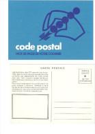 Entier Postal Année 1972     Code Postal Mot De Passe De Votre Courrier - Post