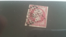 LOT 268400 TIMBRE DE FRANCE OBLITERE N°17B - 1853-1860 Napoléon III