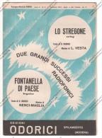 *SPARTITO - SERIE HOT 2 SUCCESSI 1953 ED. ODORICI SPILAMBERTO MODENA - - Spartiti