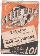 *SPARTITO - SERIE HOT 2 SUCCESSI 1952 ED. MUS. LOI SPILAMBERTO MODENA - - Spartiti