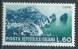 1953 ITALIA TURISTICA 60 LIRE MNH ** - VA37-3 - 1946-60: Mint/hinged
