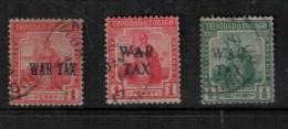 Trinidad  And Tobago 1917 SC MR1-MR3  Used - Trinidad & Tobago (1962-...)