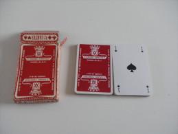 jeu de 32 cartes � jouer - VIHIERS - anjou vinicole - caves vins