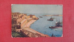 > Malta Harbor--   ------ Ref 1910 - Malta