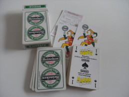 jeu de 52 cartes � jouer - HEINEKEN - BIERES BRASSERIES alcool