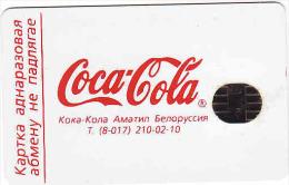 Belarus, Chip 90 Units Coca Cola, Beltelekam, - Belarus