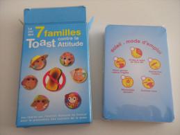 jeu de 7 familles - TOAST ATTITUDE - cancer de la peau