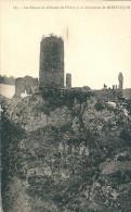 03  Environs  De Montluçon , Les Ruines Du CHATEAU De L'OURS - Montlucon