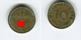 [9730] Allemagne : 10 Reichspfennig 1938A