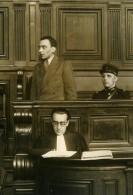 France Criminologie Proces Du Peintre Guglielmo Bravo Meurtrier Ancienne Photo De Presse 1936 - Unclassified