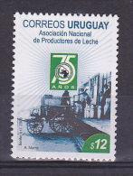 DAIRY PRODUCT MILK FACTORY VEHICLE URUGUAY Sc#2223 MNH - Uruguay