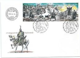 4671 Hungary FDC Art Painting Retunda Cyclorama History - Autres