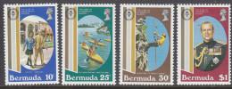 BERMUDA, 1981 DUKES AWARDS 4 MNH - Bermudes