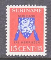 SURENAME  B 35  * - Surinam