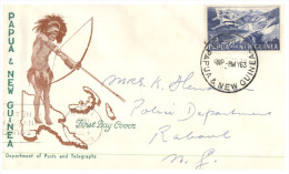 (555) Papua New Guina Cover - 1963 - Papouasie-Nouvelle-Guinée