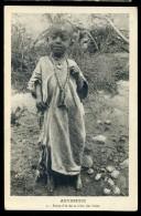Cpa D' Ethiopie Abyssinie - Petite Fille De La Tribu Des Irobs    AA8b - Ethiopie