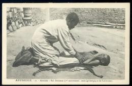Cpa D´ Ethiopie Abyssinie - Remèdes -- Mal D' Estomac     AA8b - Ethiopie