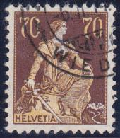No 114 Oblitéré - Cote SBZ : 32.- - Gebraucht