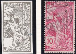 No 78 B Pf 1 - Jubilé De L'UPU - 1882-1906 Armoiries, Helvetia Debout & UPU