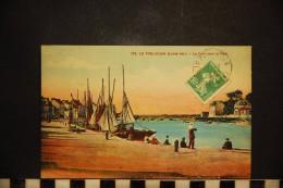 Cpa, 44, LE POULIGUEN, Le Port Vers Le Pont , 755, Animée - Le Pouliguen